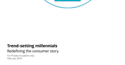 Trend-setting millennials: Redefining the consumer story