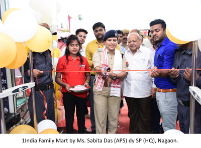 1India Family Mart by Ms. Sabita Das APS dy SP HQ Nagaon