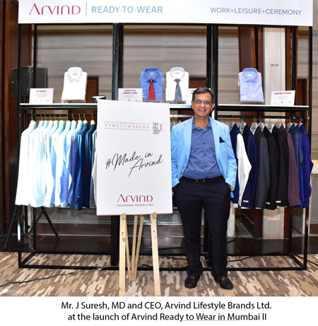 Mr. J Suresh MD and CEO Arvind Lifestyle Brands Ltd