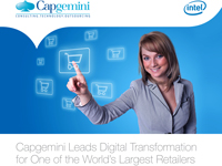 Capgemini Leads Digital Transformation for One of the World's Largest Retailers