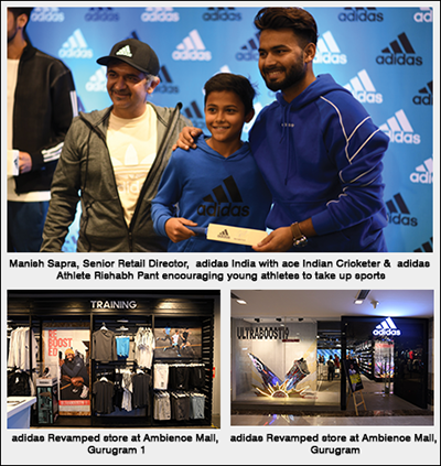 adidas Revamped store at Ambience Mall Gurugram 1